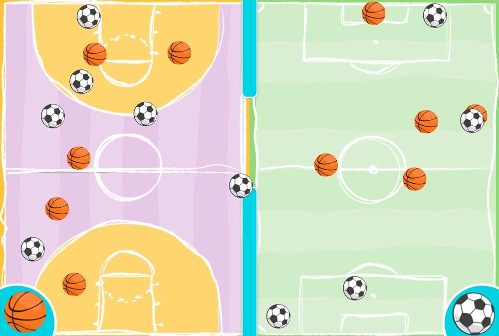 ejercicios de atención para niños que empiece el partido