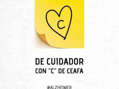 cuidador de las personas con Alzheimer