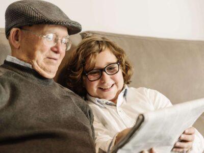 Cómo explicar qué es el Alzheimer a los más pequeños, los niños